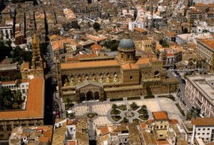 Palermo-Cattedrale dall'alto