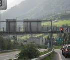 Semafori in autostrada svizzera
