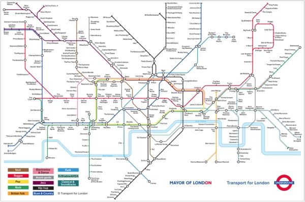 Cartina Metro Londra Con Monumenti.Londra Come Muoversi Scimmie In Viaggio