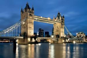 Londra-Tower Bridge sera